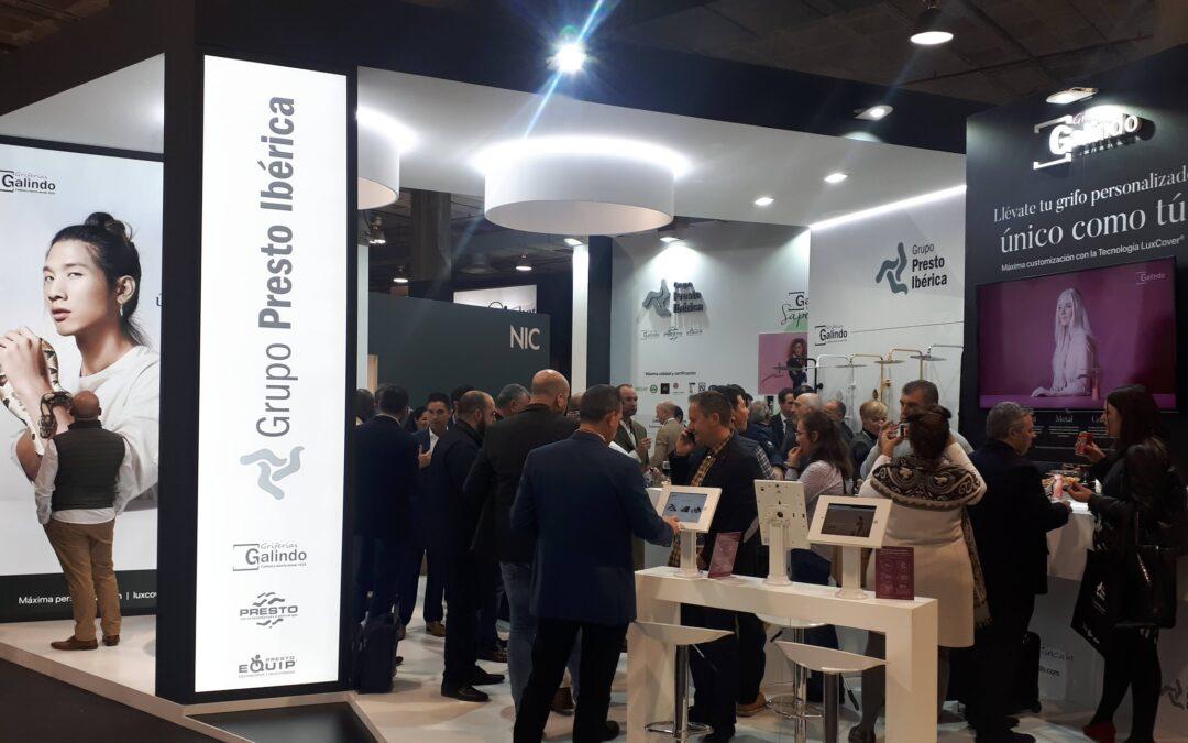 Grupo Presto Ibérica triunfa convirtiendo en diseñador a cada visitante de Cevisama 2020
