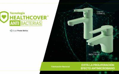 La tecnología HealthCover® Antibacterias te protege